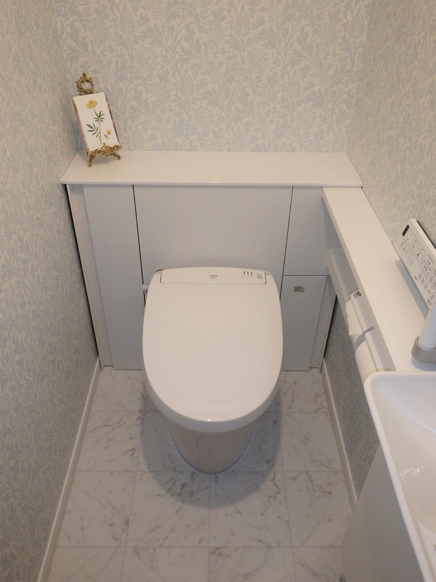 ★トイレの施工事例がUPされました!